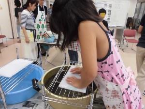 紙すき教室3