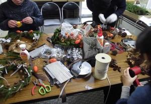 リース作りテーブル