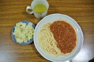 子ども食堂スパゲティ