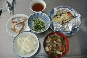 料理教室食事